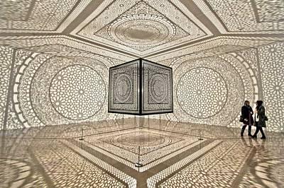 Installation Art Photograph - Geometry by Jane Hu
