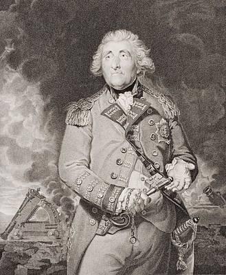Lord Drawing - George Augustus Elliott, Lord by Vintage Design Pics