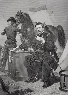 George Brinton Mcclellan 1826 - 1885 Print by Vintage Design Pics