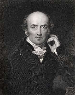 Prime Drawing - George Canning 1770 To 1827 British by Vintage Design Pics