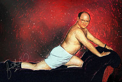 Lol Digital Art - George Costanza by Taylan Soyturk