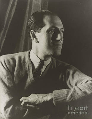 Jazz Pianist Photograph - George Gershwin, American Composer by Science Source