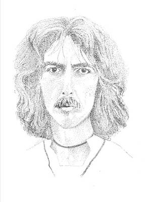 George Harrison Print by Terry Adamick