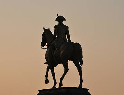 George Photograph - George Washington At Sunrise by Bill Cannon