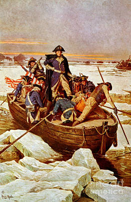Battle Of Trenton Photograph - George Washington Crossing by Science Source