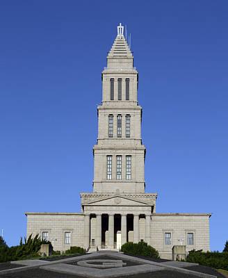 George Washington Masonic Temple National Memorial In Alexandria Virginia Print by Brendan Reals