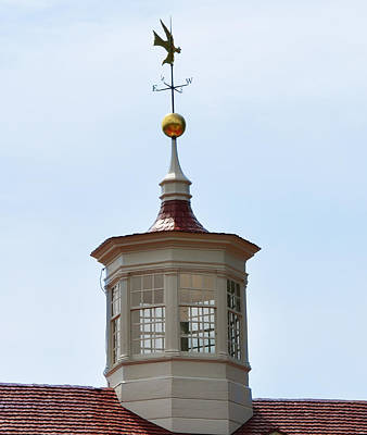 Pheasant Digital Art - George Washington's Cupola At Mount Vernon by Bill Cannon