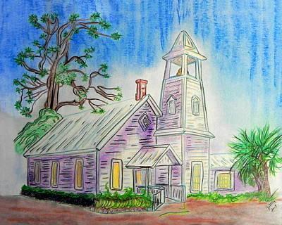 Key West Painting - Georgianna  by W Gilroy