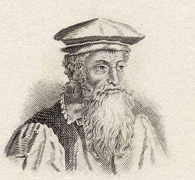 Flemish Drawing - Gerardus Mercator, 1512-1594. Flemish by Vintage Design Pics