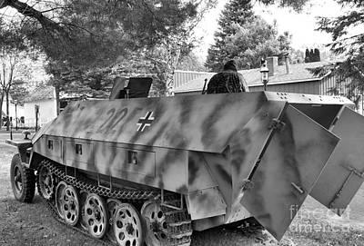 German Schutzenpanzerwagen Print by Jimmy Ostgard