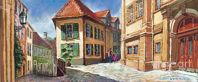 Germany Baden-baden 04 Print by Yuriy  Shevchuk