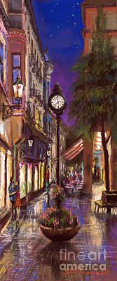 Pastels Painting - Germany Baden-baden 11 by Yuriy  Shevchuk