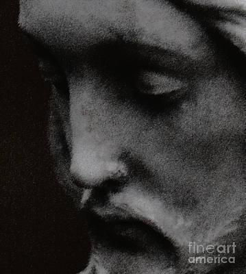 Gethsemane Print by Linda Knorr Shafer