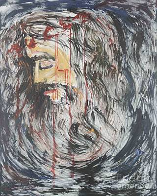 Palm Sunday Painting - Gethsemane To Golgotha IIi by Nadine Rippelmeyer