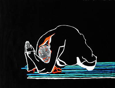 Gethsemane's Dolor Print by Gloria Ssali