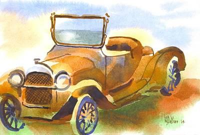 Getting A Little Rusty Original by Kip DeVore