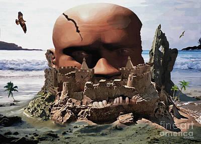 Digital Art - Getting Inside His Head by Joseph Juvenal