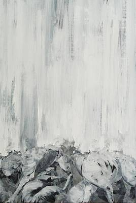 Abstract Movement Painting - Ghost 4 by Adrienne Romine