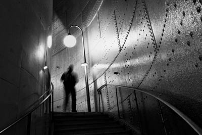 Subway Photograph - Ghost by Art Lionse