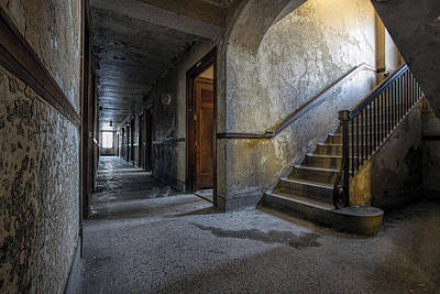 Photograph - Ghost In The Hall by Steven K Sembach