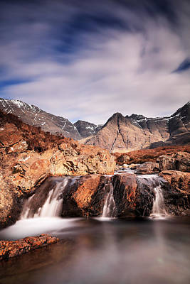 Glen Brittle Photograph - Ghost Of The Fairy Pools by Grant Glendinning