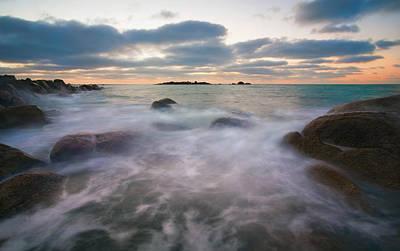 Fleurieu Peninsula Photograph - Ghost Tides by Mike  Dawson