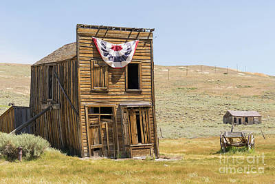 49er Photograph - Ghost Town Of Bodie California Dsc4369 by Wingsdomain Art and Photography