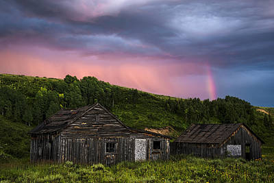 Steamboat Photograph - Ghost Town Sunset 3 by Dave Dilli