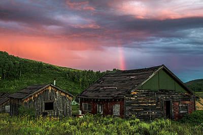 Steamboat Photograph - Ghost Town Sunset 4 by Dave Dilli