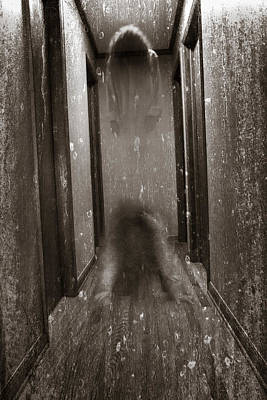 Haunted House Photograph - Ghostly Soul by Erin Cadigan