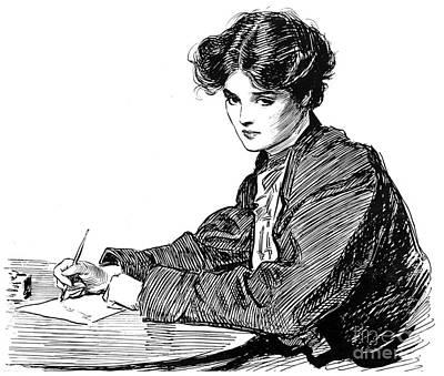 Gibson: Drawings, C1900 Print by Granger