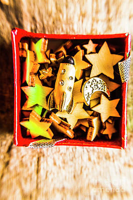 Development Photograph - Gift Boxes And Astronomy Toys by Jorgo Photography - Wall Art Gallery