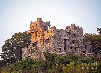 Gillette Castle Print by Linda Troski