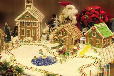 Ginger Bread Village Original by Linda Phelps