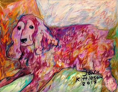 Drawing - Ginger by Jon Kittleson