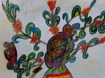 Beautiful Drawing - Ginger by Stephanie Zelaya