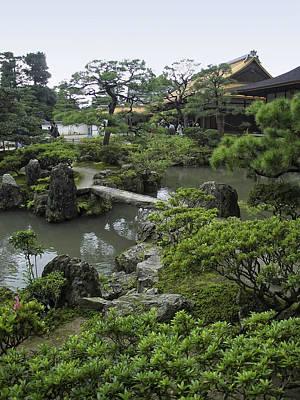Ginkaku-ji Zen Temple - Kyoto Japan Print by Daniel Hagerman