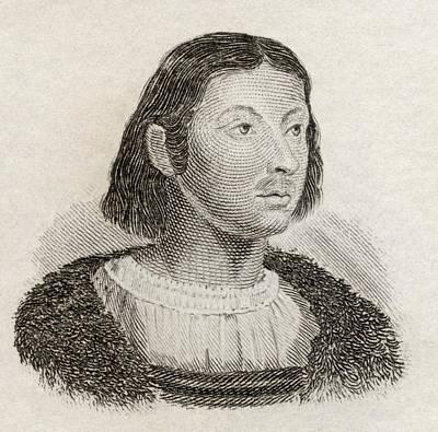 Giovanni Boccaccio, 1313 To 1375 Print by Vintage Design Pics