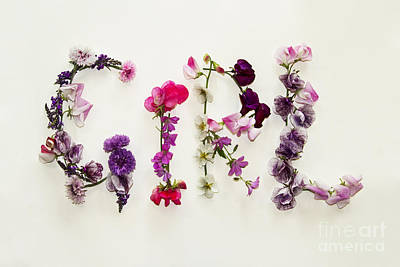 Garden Photograph - Girl by Sandra Cockayne
