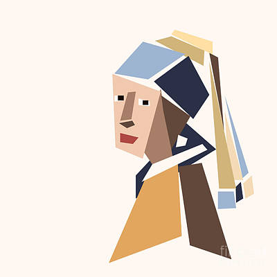 Girl With A Pearl Earring Print by Igor Kislev