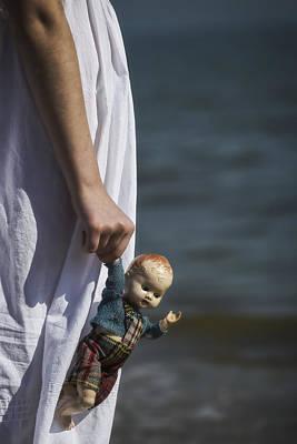 Doll Photograph - Girl With Doll by Joana Kruse
