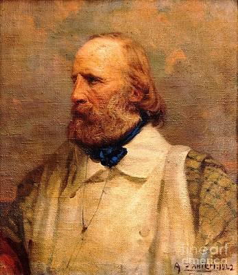 Giuseppe Garibaldi Print by Pg Reproductions