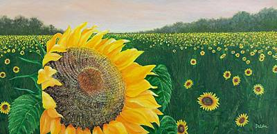 Kansas Artist Painting - Giver Of Life by Susan DeLain