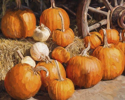 Jordan Painting - Giving Thanks - Seasonal Art by Jordan Blackstone