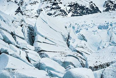 Glacier Close Up Print by Svetlana Sewell