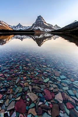 Glacier Skittles Print by Aaron Aldrich