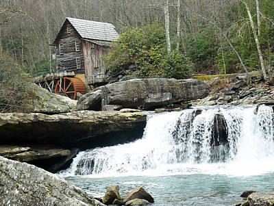 Glade Creek Grist Mill In Color Original by Jack Paolini