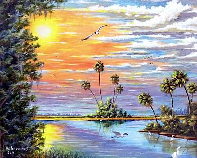 Painting - Glades Inspiration by Riley Geddings