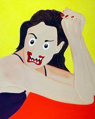 Funism Painting - Glamorous by Sal Marino