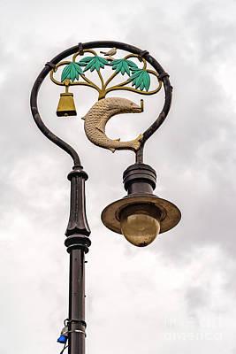 Metal Fish Art Photograph - Glasgow Lamp Post by Antony McAulay